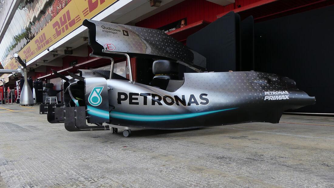 Mercedes - Formel 1 - GP Spanien - Barcelona - 8. Mai 2019