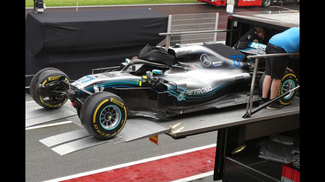 Mercedes - Formel 1 - GP Spanien - Barcelona - 9. Mai 2018