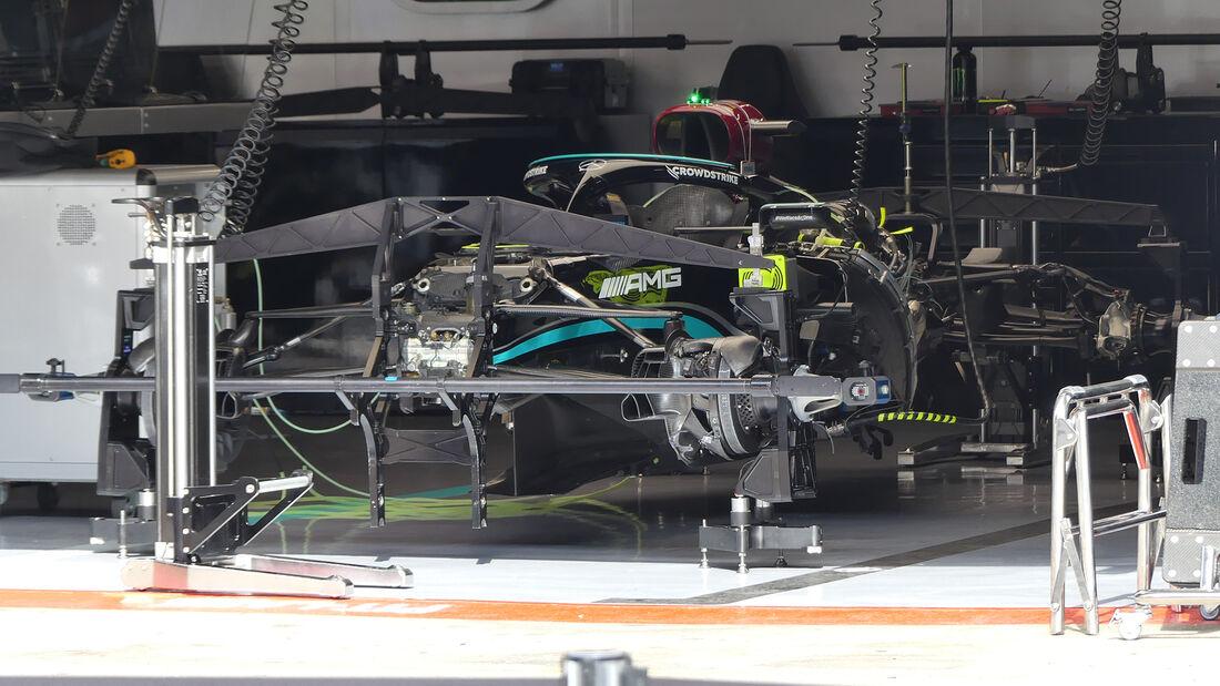 Mercedes - Formel 1 - GP Spanien - Donnerstag - 6.5.2021