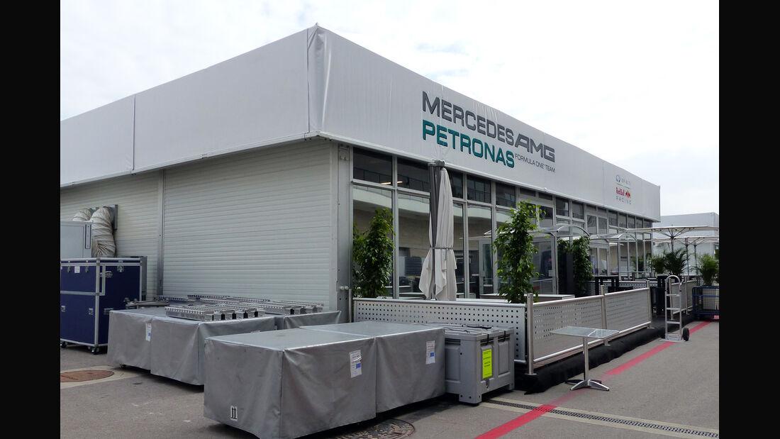 Mercedes - Formel 1 - GP USA - 29. Oktober 2014