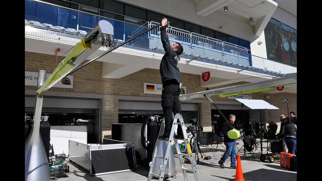 Mercedes - Formel 1 - GP USA - Austin - 13. November 2013