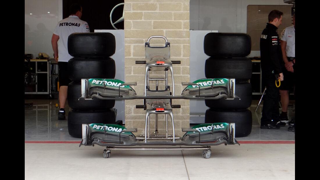 Mercedes - Formel 1 - GP USA - Austin - 15. November 2012