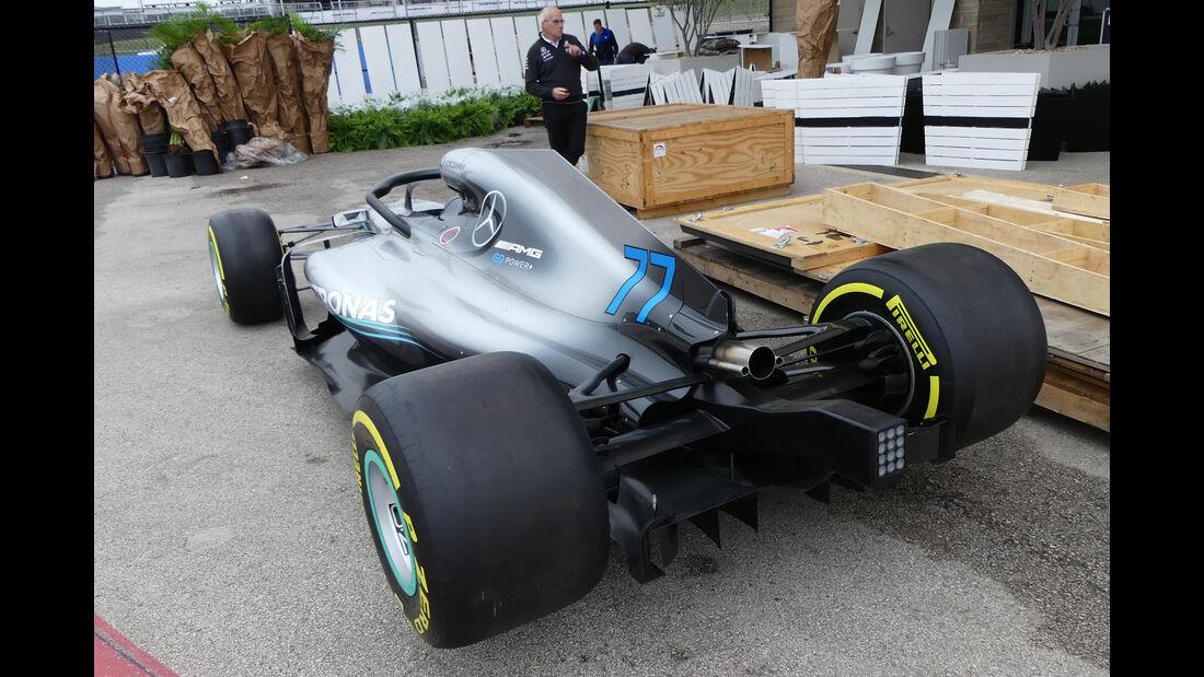 Mercedes - Formel 1 - GP USA - Austin  - 17. Oktober 2018