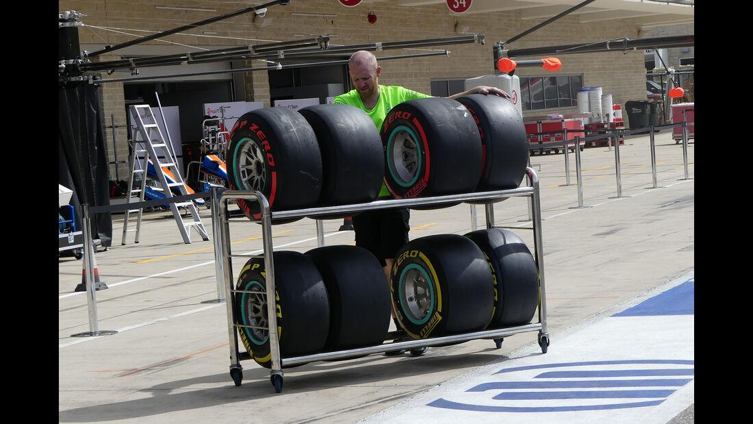 Mercedes - Formel 1 - GP USA - Austin - 19. Oktober 2016