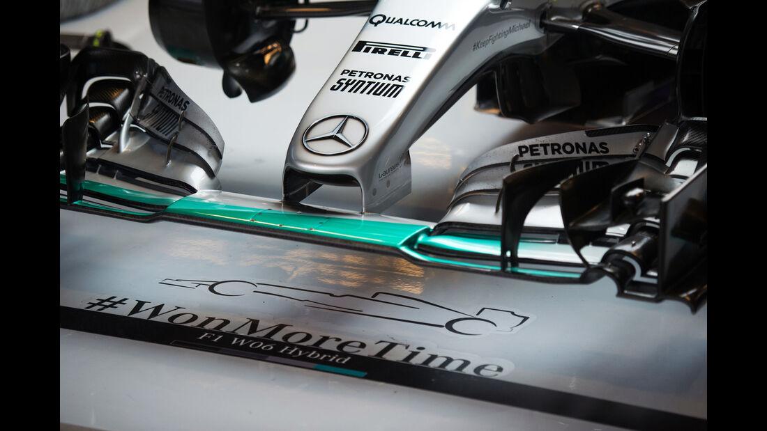 Mercedes - Formel 1 - GP USA - Austin - 23. Oktober 2015