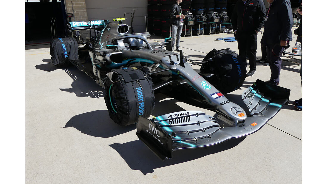 Mercedes - Formel 1 - GP USA - Austin - 31. Oktober 2019