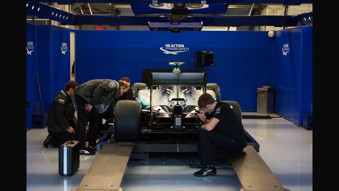 Mercedes - Formel 1 - GP USA - Austin - Formel 1 - 24. Oktober 2015