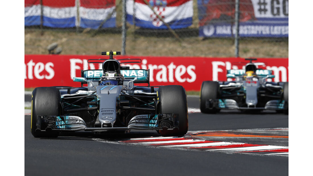 Mercedes - Formel 1 - GP Ungarn 2017