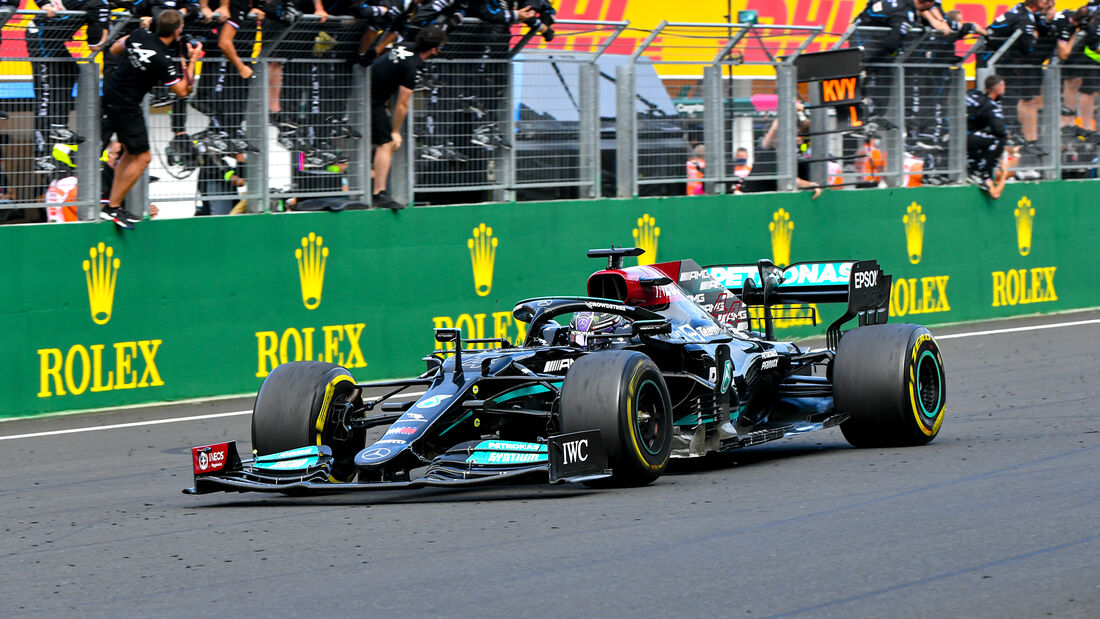 Mercedes - Formel 1 - GP Ungarn 2021