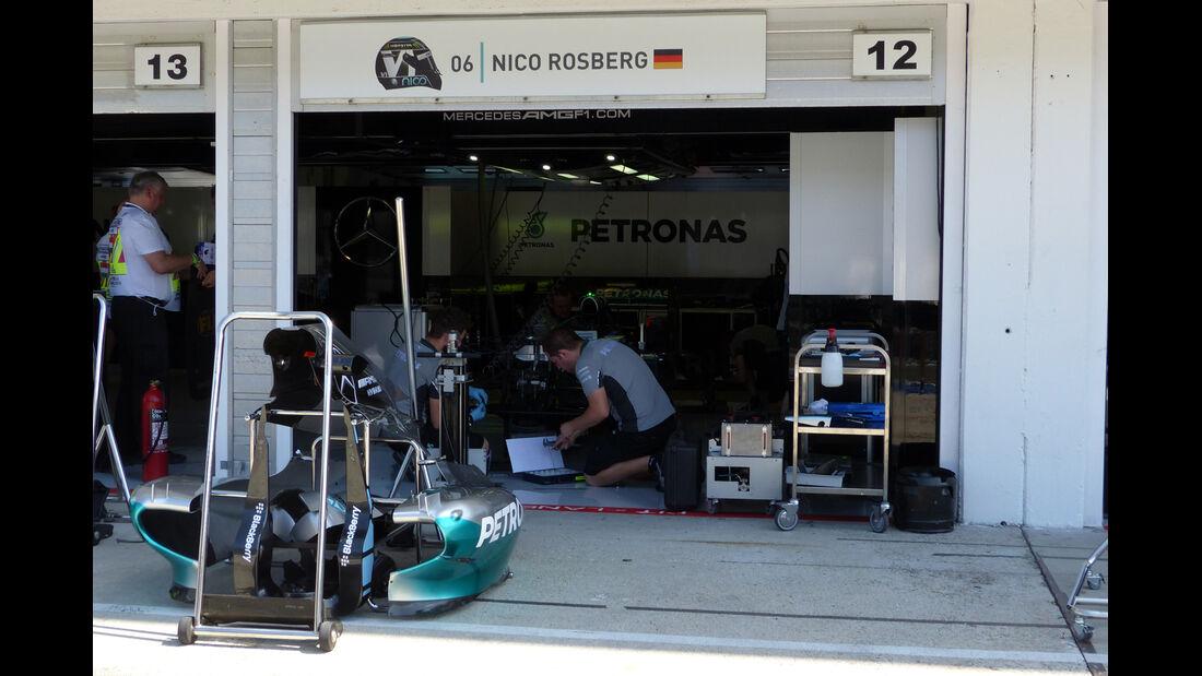 Mercedes - Formel 1 - GP Ungarn - 24. Juli 2014