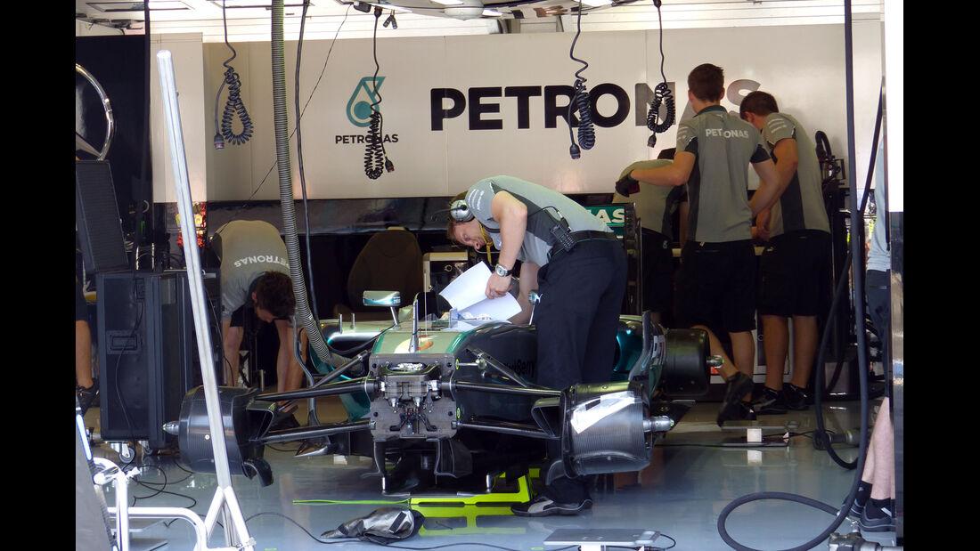 Mercedes - Formel 1 - GP Ungarn - 25. Juli 2014