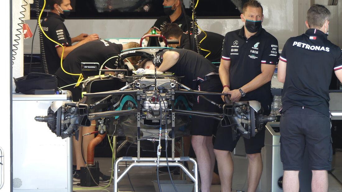 Mercedes - Formel 1 - GP Ungarn - Budapest - Donnerstag - 29. Juli 2021