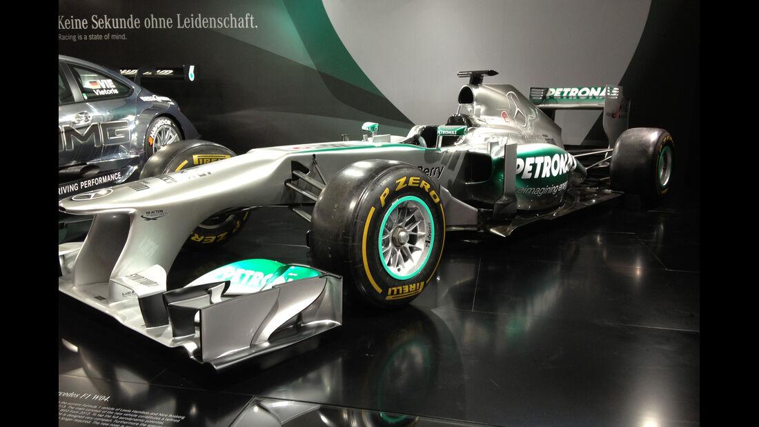 Mercedes Formel 1 - IAA 2013