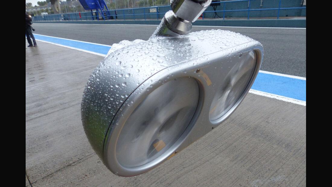 Mercedes - Formel 1 - Jerez - Test - 31. Januar 2014