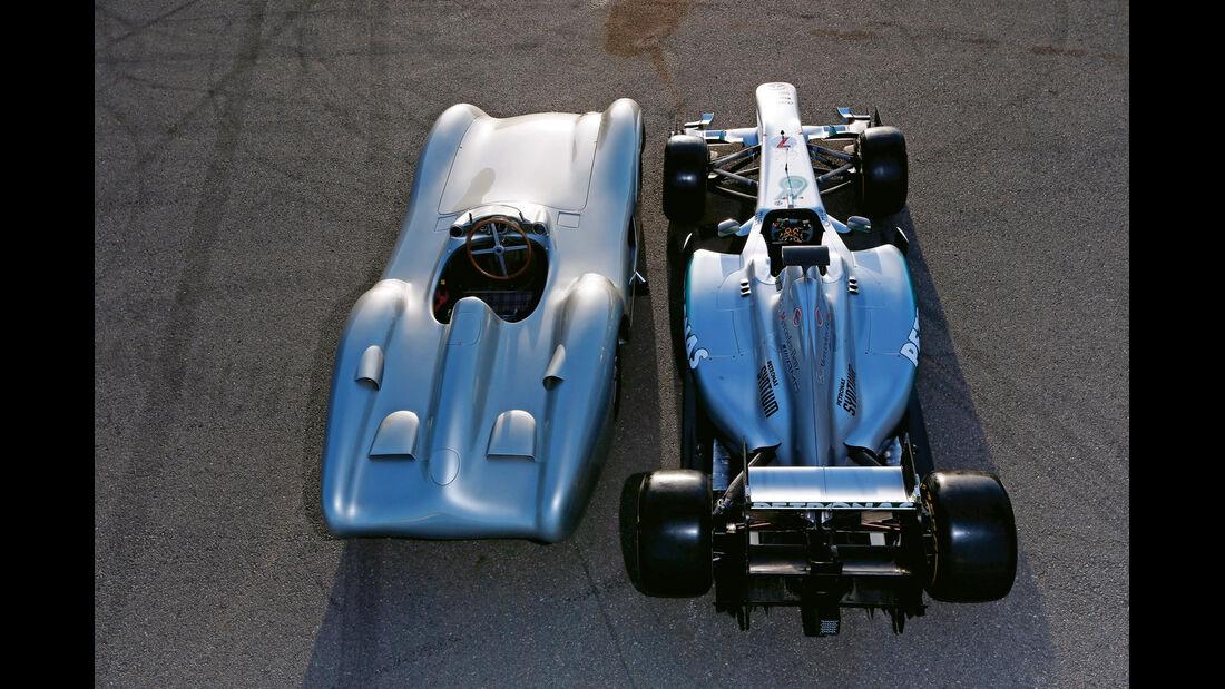 Mercedes, Formel 1, Silberpfeil