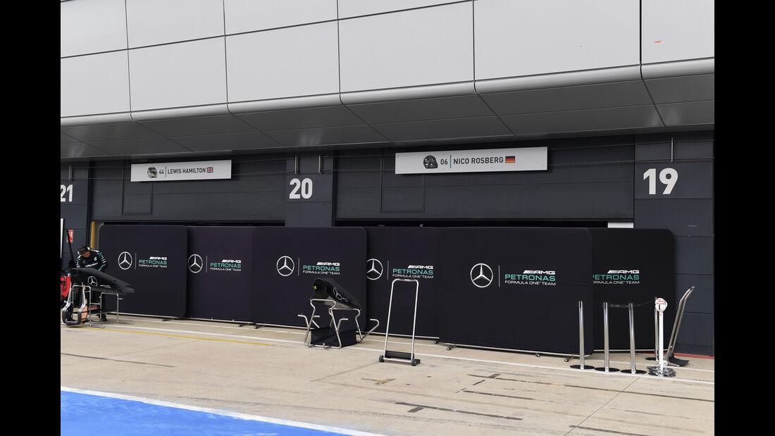 Mercedes - Formel 1 - Silverstone-Test - 12. Juli 2016