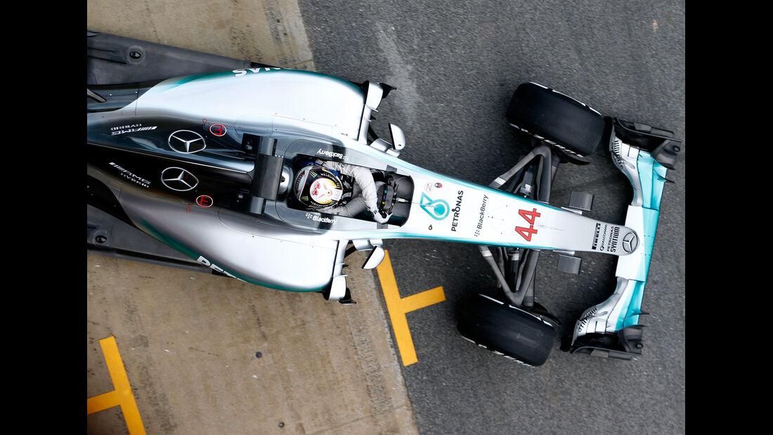 Mercedes - Formel 1-Technik - Barcelona-Test 2 - F1 2015