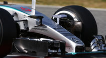 Mercedes - Formel 1-Technik - Barcelona-Test 2 - F1 2015