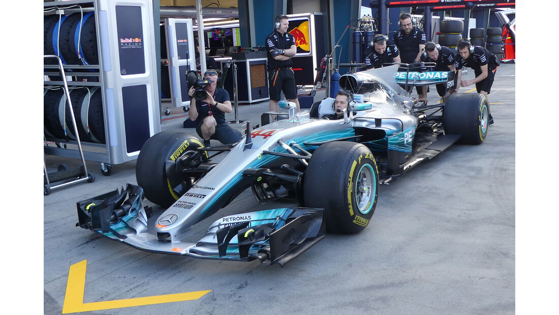 Mercedes - Formel 1 - Technik - GP Australien 2017