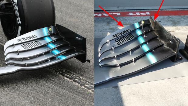 Mercedes - Formel 1 - Technik - GP Australien / GP Bahrain 2019
