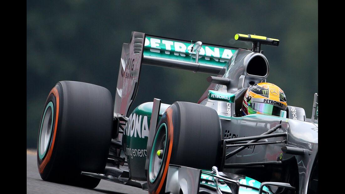 Mercedes - Formel 1-Technik - GP Belgien 2013