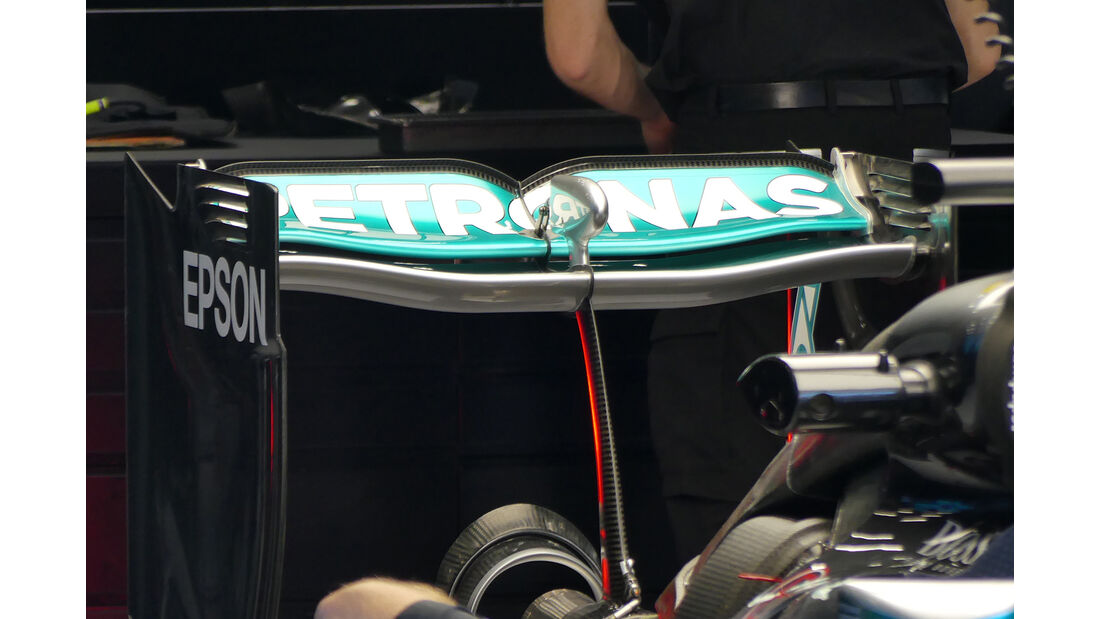 Mercedes - Formel 1-Technik - GP Belgien / GP Italien - 2016