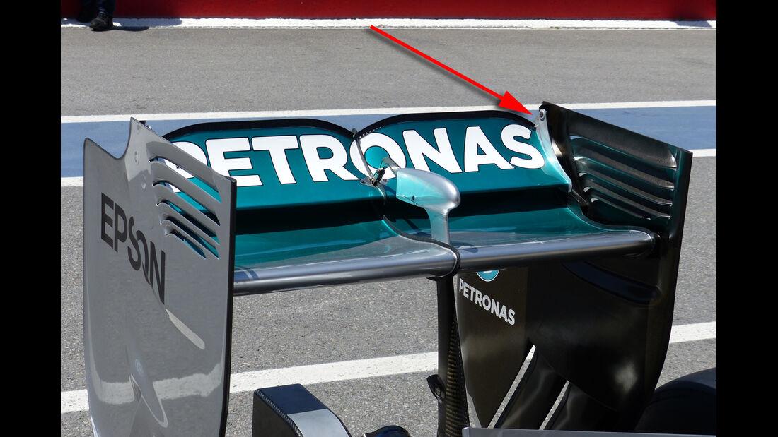 Mercedes - Formel 1 - Technik - GP Kanada 2015