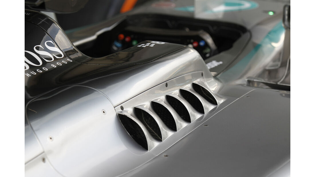 Mercedes - Formel 1-Technik - GP Malaysia 2015