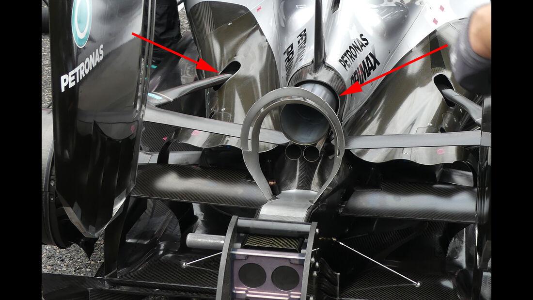 Mercedes - Formel 1 - Technik - GP Malaysia / GP Japan - 2016
