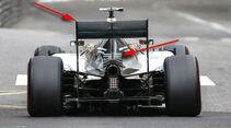 Mercedes - Formel 1 - Technik - GP Monaco 2015