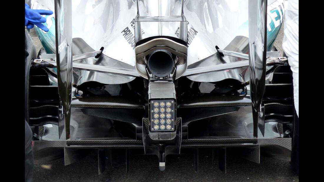 Mercedes - Formel 1 - Technik - GP Singapur 2014