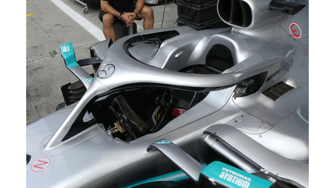 Mercedes - Formel 1 -Technik-Updates - 2019