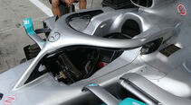 Mercedes - Formel 1 -Technik-Updates - 2019