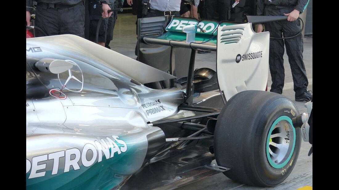Mercedes - Formel 1 - Test - Bahrain - 19. Februar 2014