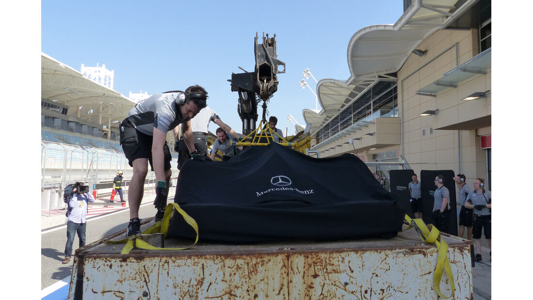 Mercedes - Formel 1 - Test - Bahrain - 20. Februar 2014