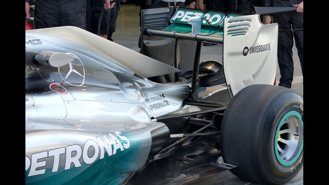 Mercedes - Formel 1 Test - Bahrain - 2014