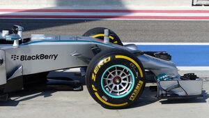 Mercedes - Formel 1 - Test - Bahrain - 22. Februar 2014