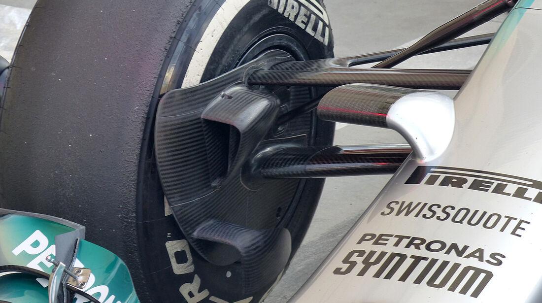 Mercedes - Formel 1 - Test - Bahrain - 27. Februar 2014