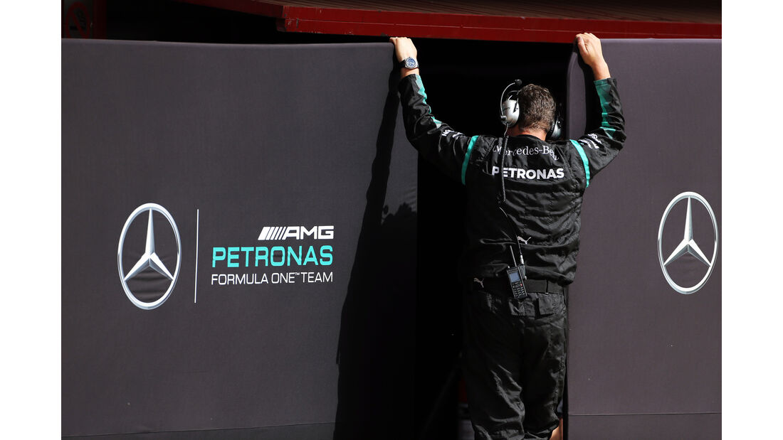 Mercedes - Formel 1-Test - Barcelona - 13. Mai 2015
