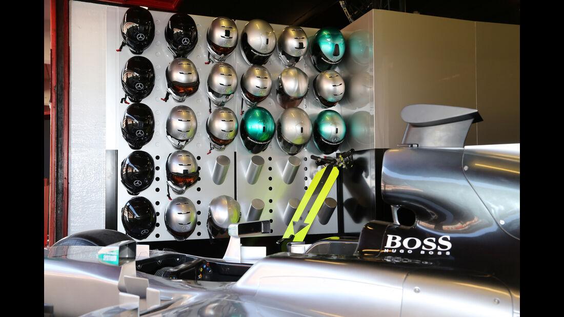Mercedes - Formel 1-Test - Barcelona - 24. Februar 2016