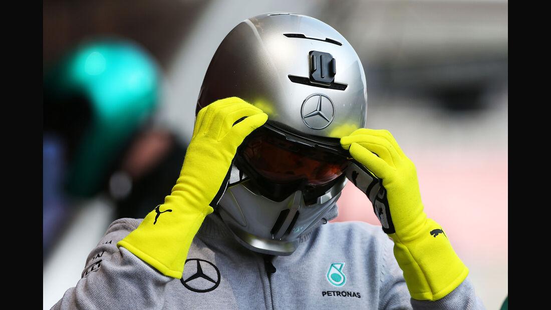 Mercedes - Formel 1-Test - Barcelona - 25. Februar 2016