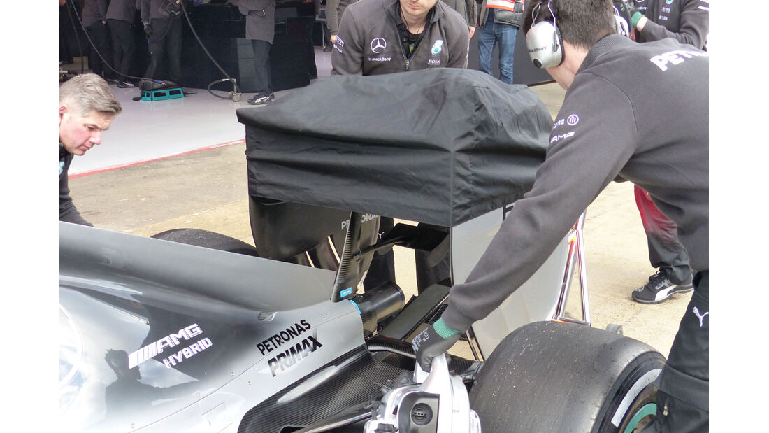 Mercedes - Formel 1-Test - Barcelona - 26. Februar 2015