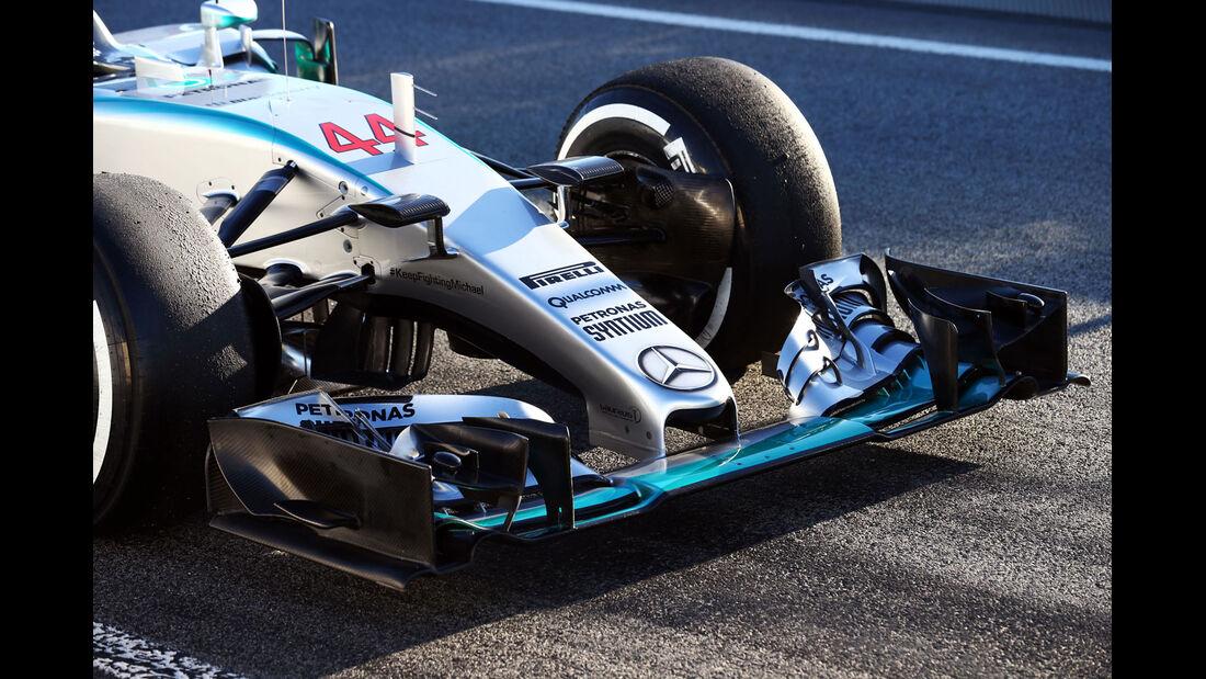 Mercedes - Formel 1-Test - Barcelona - 28. Februar 2015