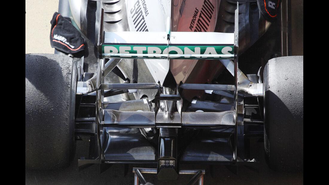 Mercedes - Formel 1 - Test - Barcelona - 3. März 2013