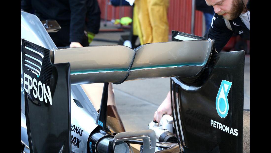 Mercedes - Formel 1-Test - Barcelona - 4. März 2016