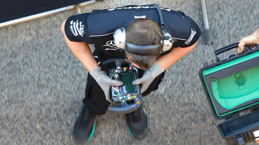 Mercedes - Formel 1 - Test - Barcelona - 9. März 2017