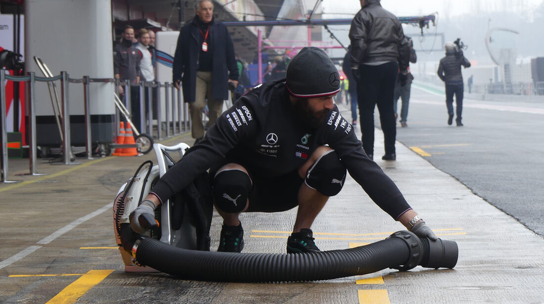 Mercedes - Formel 1 Test - Barcelona - Tag 4 - 1. März 2018