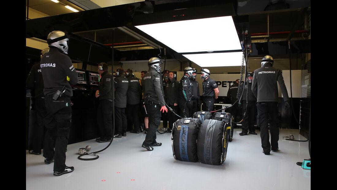 Mercedes - Formel 1-Test - Jerez - 3. Februar 2015