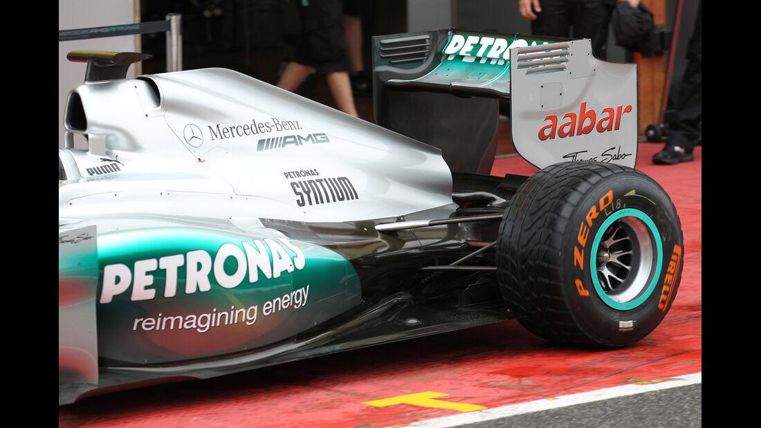 Mercedes - Formel 1-Test - Mugello - 1. Mai 2012