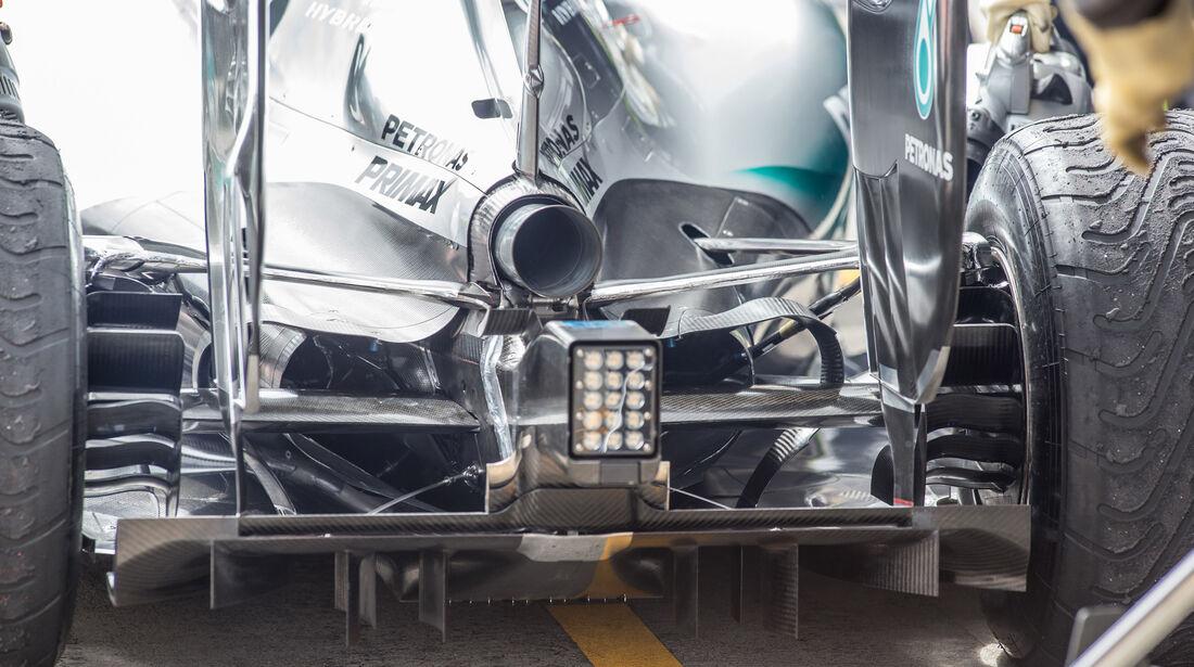 Mercedes - Formel 1 - Test - Spielberg - 23. Juni 2015